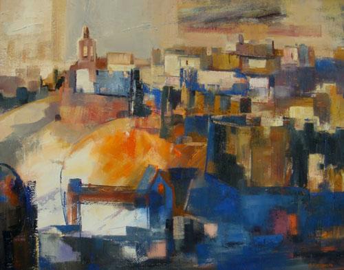 Ávila     Óleo / lienzo 92 x 73 cm