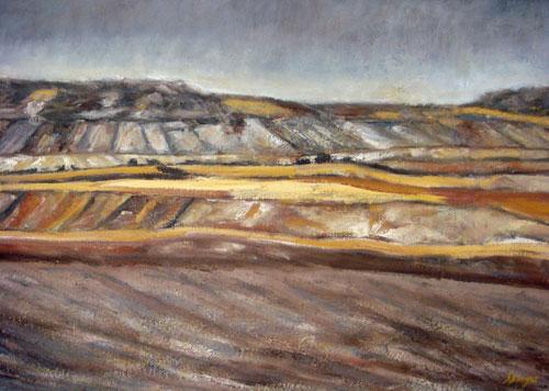 Tierras     Óleo / lienzo 116 x 81 cm