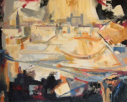 Toledo     Óleo/ lienzo 92 x 73 cm